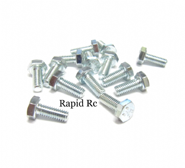 M4 x 10mm Hex Head High Tensile Hex Bolts